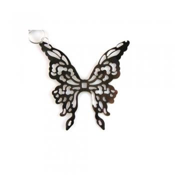 Кулон металлический бабочка
