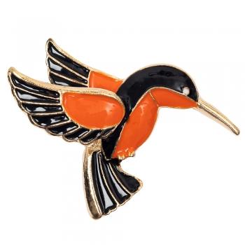 Брошка Птах Колібрі