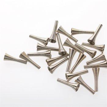 Конусы и колпачки мельхиоровые 28 мм