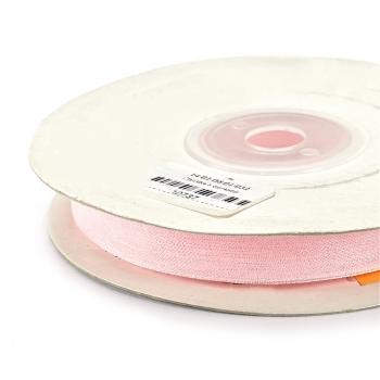 Стрічка з органзи 10 мм рожева