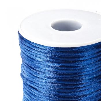 Шнур полиэстеровый 2 мм синий