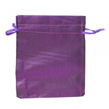 Мешочек полиэстеровый 12х10см фиолетовый
