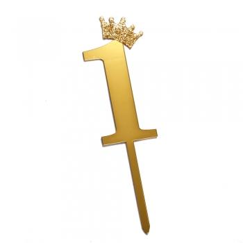 Цифра 1 Д.Н. корона