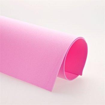 Фоамиран розовый, (Иран 09), А4, 1мм