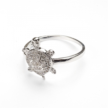 Металическое кольцо Черепаха LUX