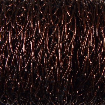 Шнуры плетеные ажурные, коричневый
