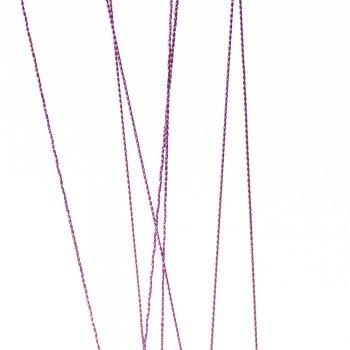 Нитка люрексова пурпурна