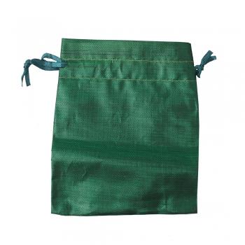 Мішечок поліестеровий 12х10см зелений