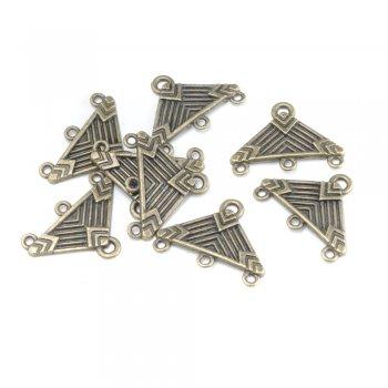 Металлические литые бронзовые подвески