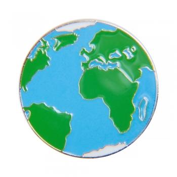 Значок пін Земля