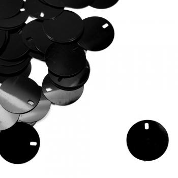 Рекламні паєтки 0,025 кг чорні глянцеві