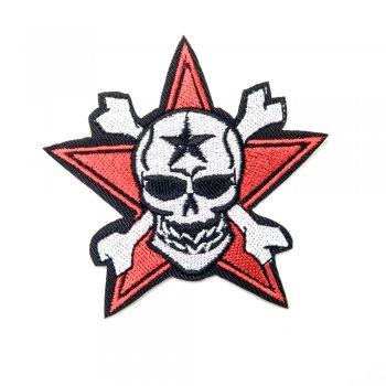 Нашивка Череп со звездой