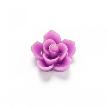 Пластикові клейові елементи. Квітка бузкова
