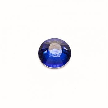 Стрази клейові пластикові 8 мм сині уп. 15шт