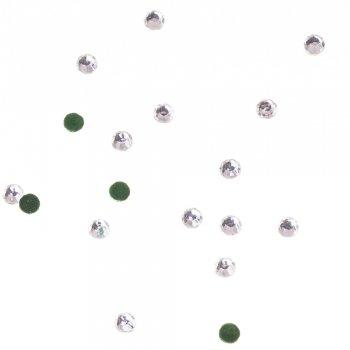 Клейові стрази прозорий кришталь 4,8 мм