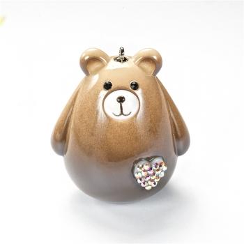 Пластиковая подвеска Медведь