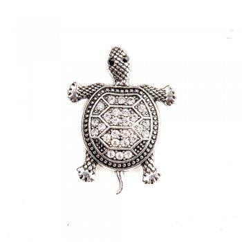 Намистини кнопки Черепаха метал 23 мм