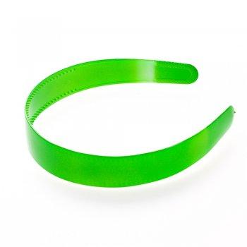 Обруч пластиковий зелений глянцевий