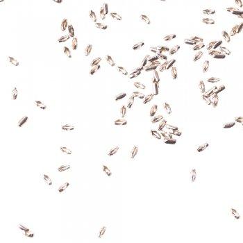 Застежки для цепочки. Серебристый. Длина 5 мм, диаметр 2 мм.