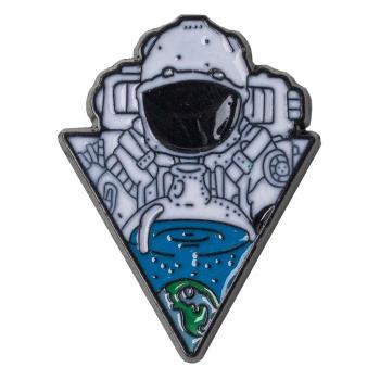 Значок пин Космонавт