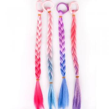Резинка для волосся з косою