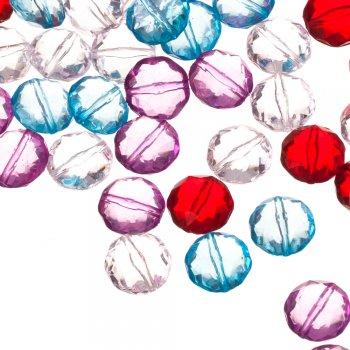 Пластикові кристали коло 14 мм