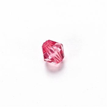 Пластиковые кристаллы  малиновые