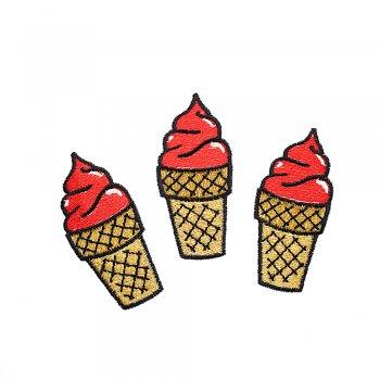 Тканевая нашивка Ягодное мороженое