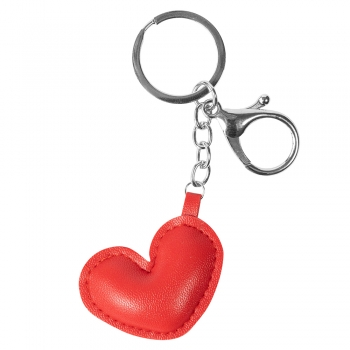 Брелок Сердце красное