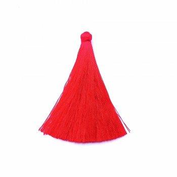 Текстильні китиці червоні