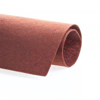 Фетр коричневого кольору