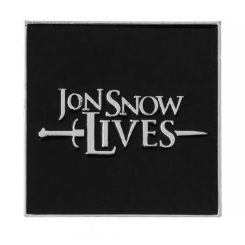 Значок пін Jon Snow Lives