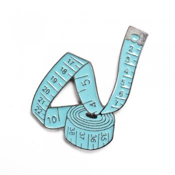 Значок пін вимірювальна стрічка