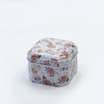 Коробочка бляшана 6,5х6,5х4,5 см