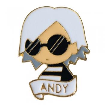 Значок пін Andy