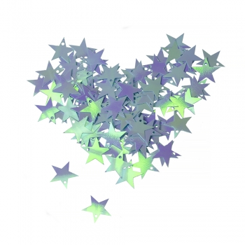 Пайетки звезда 16мм (0,005кг)