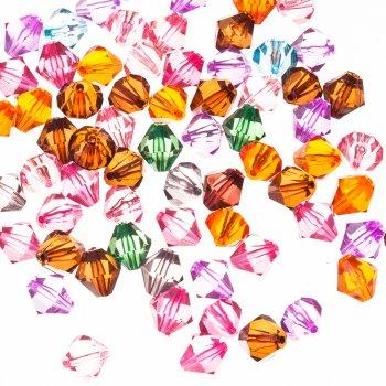 Двуконические кристаллы микс 14 мм
