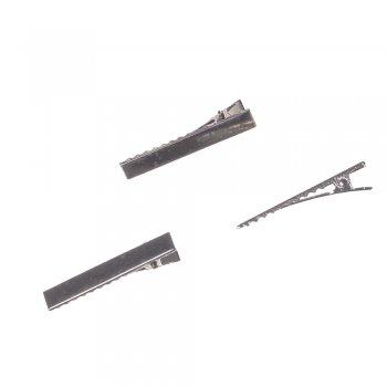 Основа для заколки тёмно-стальная длинна 50 мм