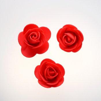Штучні квіти червоний