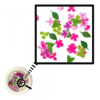Декор для 3D дизайна ногтей Цветы (уп50шт)