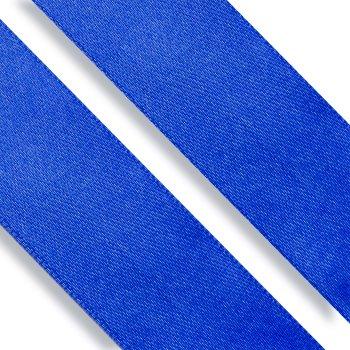 Стрічка атласна 25 мм синя