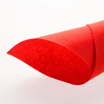 Фетр 1 мм Червоний