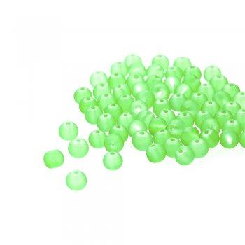 Скло напівпрозоре прогумоване. Яскраво-зелений