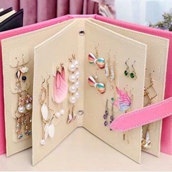 Шкатулка - блокнот для хранения украшений