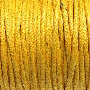 Нитки бавовняні жовті 1,5 мм