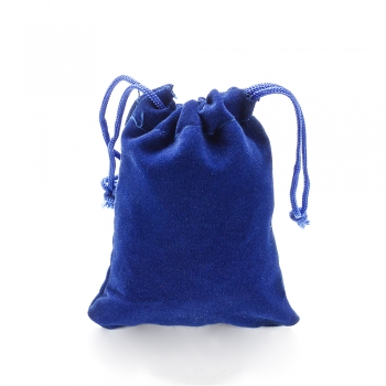 Мешочек бархатный 7х9 см синий