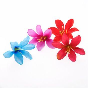 Искусственные цветы лилии. Микс