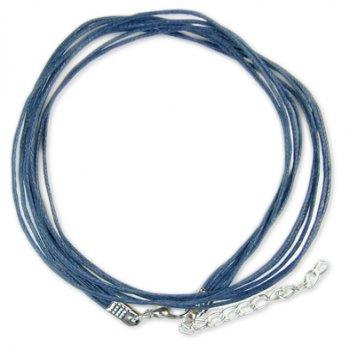 Готові основи - бавовняний шнур темно-синій