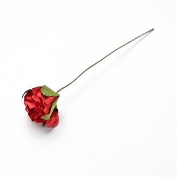 Штучна квітка. Троянда. Червона