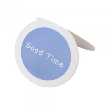 Открытка овальная Good time